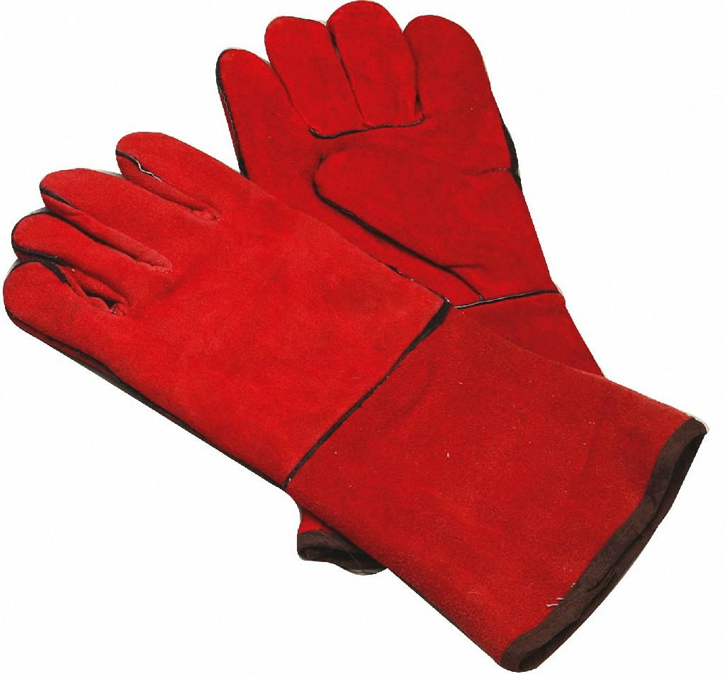 Leather work gloves for welding - Leather Welding Gloves