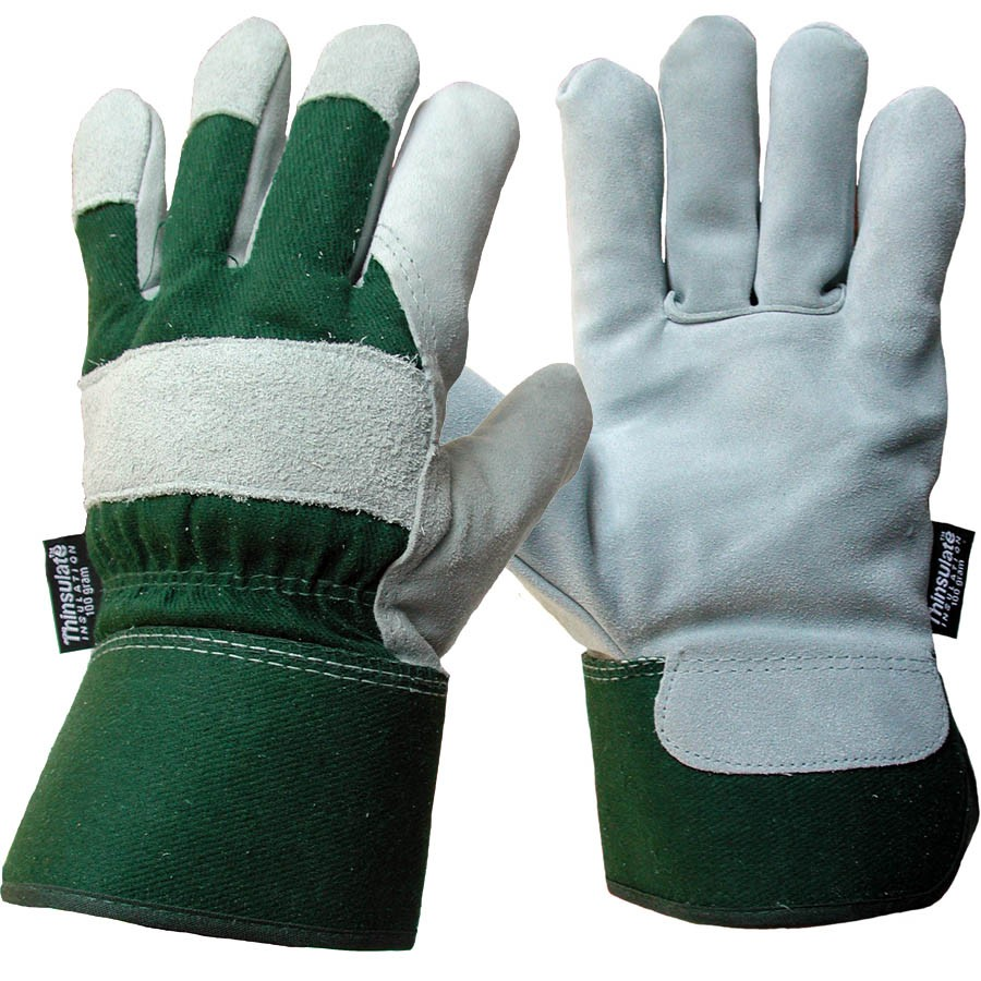 Leather work gloves with thinsulate lining - Leather Working Gloves